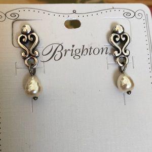 Brighton pearl dangle earrings